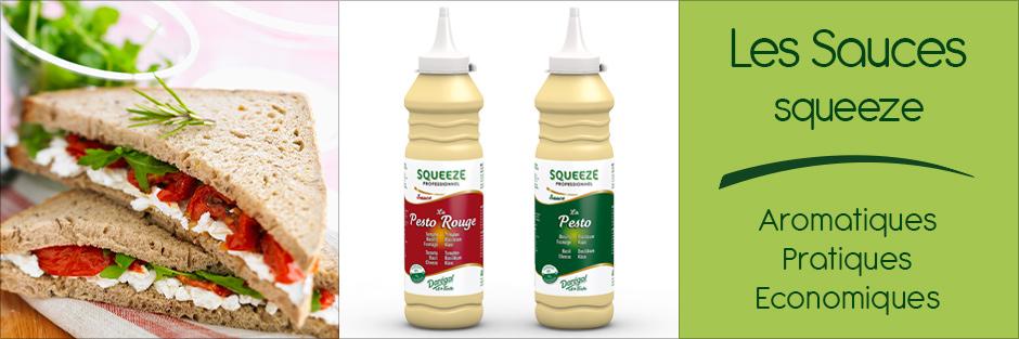 Les Sauces squeeze par Darégal