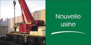 Darégal investitdans la construction d'une nouvelle usine à Milly-la-Forêt