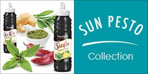 Sauces SUN PESTO : Le Rayon de Soleil des Sandwichs
